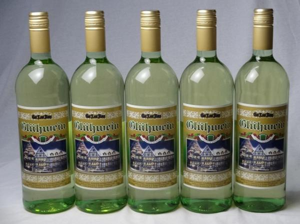 ドイツホット白ワイン5本セット ゲートロイトハウス グリュー_画像1