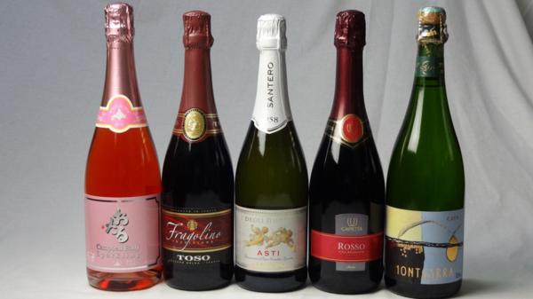 世界の甘口赤×白×ロゼスパークリングワイン5本セッ_画像1