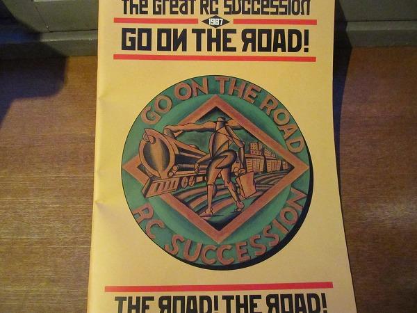 ツアーパンフ●RCサクセション GO ON THE ROAD! 1987/忌野清志郎