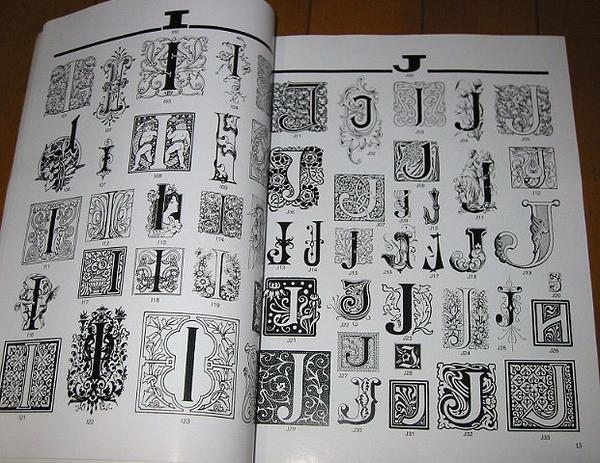 レタリングデザイン洋書【装飾文字(CDブック)】_画像2