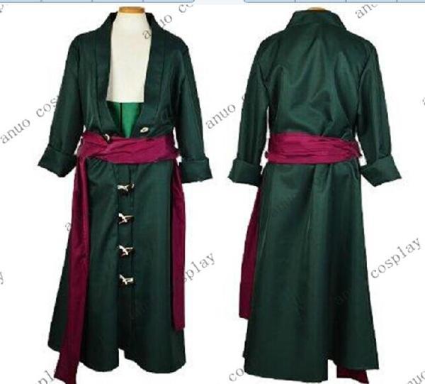 二年後 ロロノア・ゾロ(海賊狩りのゾロ)風コスプレ衣装セット