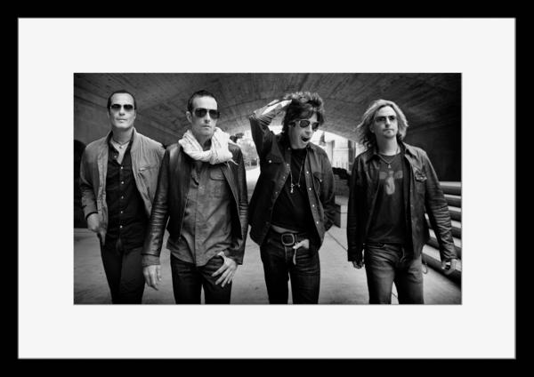BW:人気ロックバンド!ストーン・テンプル・パイロッツ/Stone Temple Pilots/STP/モノクロ写真フレーム-3
