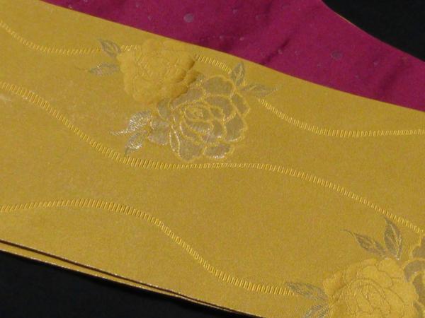 ☆オリジナル製レトロ木綿着物(ゆかた)+帯セット現品限り⑮_とてもきれいです