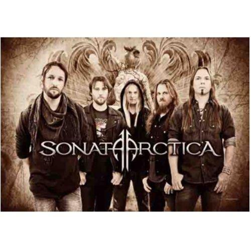 海外限定 公式 SONATA ARCTICA ソナタ G235 特大布ポスター