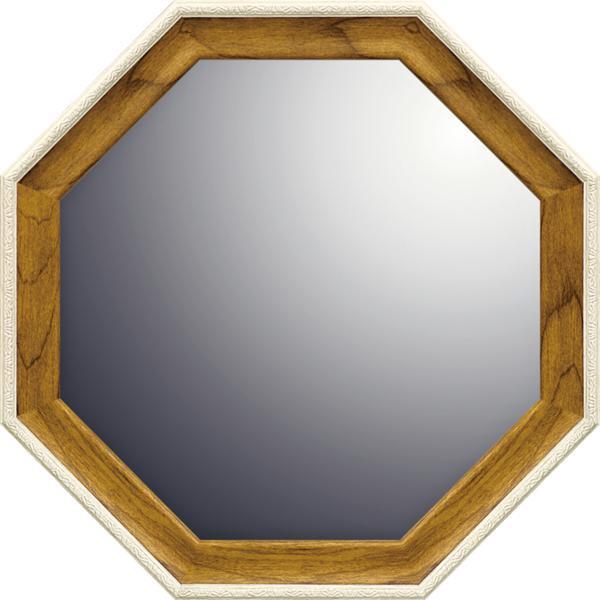 ナチュラル 八角ミラー「ナチュラル(Mサイズ)」_画像1