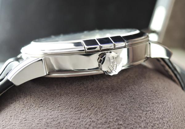 ハリーウィンストン HARRY WINSTON ミッドナイト MIDAMP42WW001 18KWG レトログラード ムーンフェイズ メンズ腕時計 保証書有 1Pダイヤ_ハリーウィンストン HARRY WINSTON
