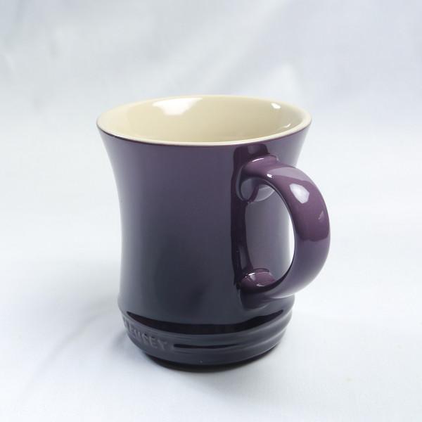 新品☆ル・クルーゼ/LE CREUSET マグカップ413ml カシス(紫)_画像3