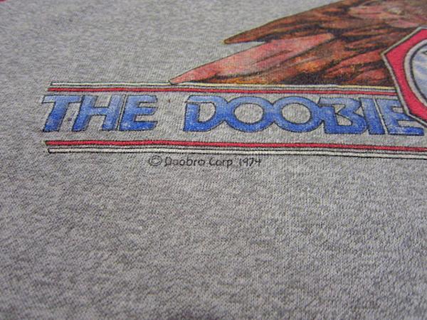 ビンテージ70's★THE DOOBIE BROTHERS ラグランTシャツ Size M★60's80'sドゥービーブラザーズバンド音楽古着卸_画像5