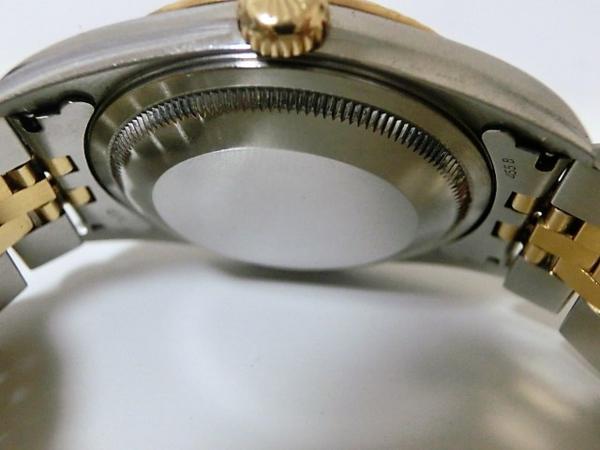 ロレックス 16233 P番 デイトジャスト メンズ 腕時計 自動巻き SS/K18YG ギャラ有 シャンパンゴールド文字盤☆ROLEX☆【中古】 bt1050_画像6