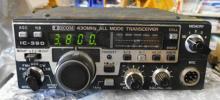 IC-390 アイコム430MHzオールモード10W 受信Fずれで要メンテのジャンク!