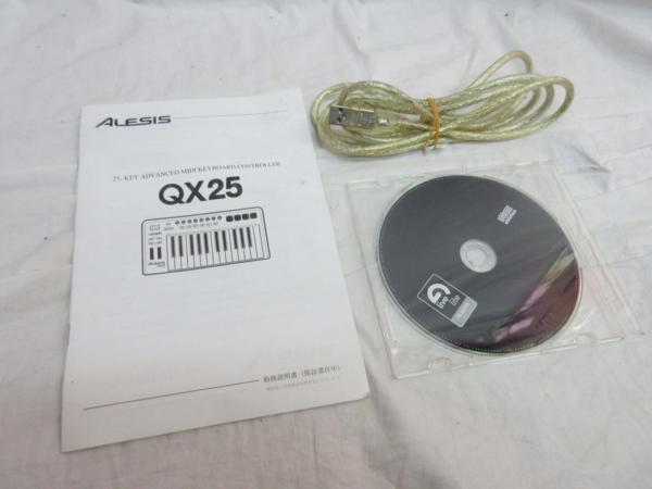 □ALESIS アレシス USB/MIDIコントローラー キーボード□/B_画像8
