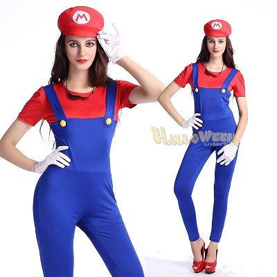 ズボン スーパーマリオ ルイージコスプレ衣装 ハロウィン グッズの画像