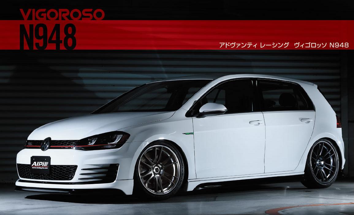 送料無料 Advanti Rasing VIGOROSO N948 5H120 18インチ 8.5J+38 BMW 3シリーズ E90 E91 F30 F31 4シリーズ F32 F33 F36_画像2