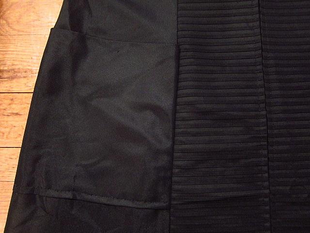ビンテージ70's★丸襟半袖ワンピース黒★60's80's古着屋卸レトロひざ丈ブラックシンプル_画像7
