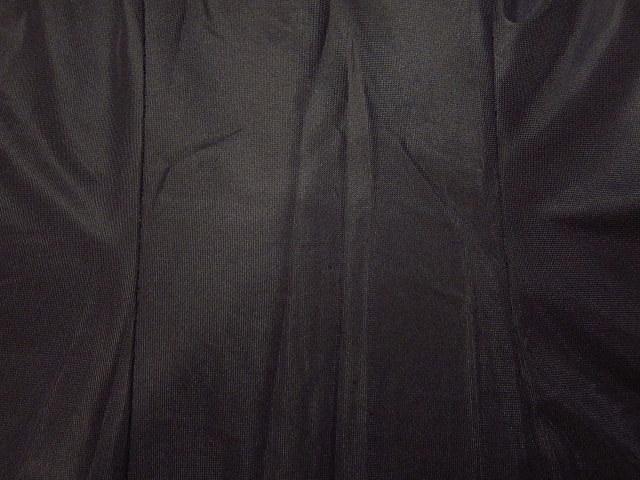 ビンテージ70's★丸襟半袖ワンピース黒★60's80's古着屋卸レトロひざ丈ブラックシンプル_画像8