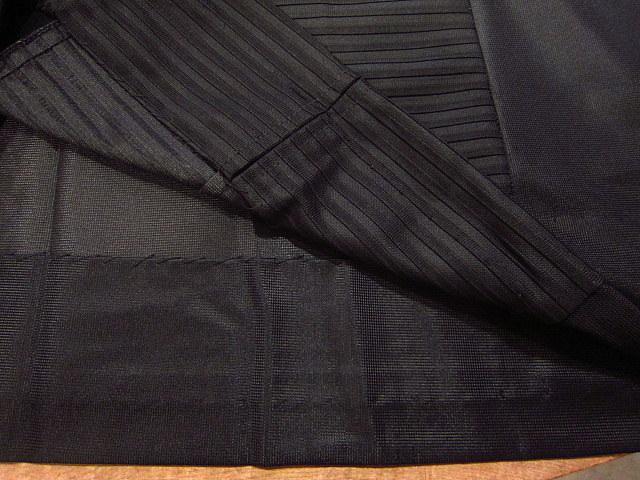 ビンテージ70's★丸襟半袖ワンピース黒★60's80's古着屋卸レトロひざ丈ブラックシンプル_画像10