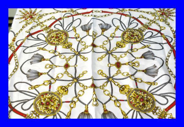 ★美品フェリックスビューラーFelix Buhler シルク100% スカーフ 【青森アートポラリス弘前買取】