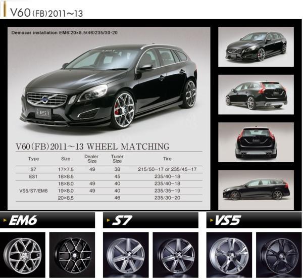 【M's】VOLVO V60 FB T4 T5 T6 AWD(11y-13y)ERST リアスカート_画像10