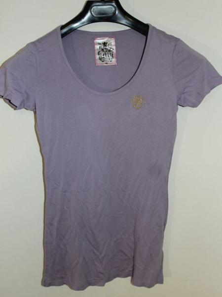 モーフィンジェネレーション Morphine Generation レディース半袖Tシャツ パープルMサイズ 新品_画像4