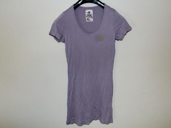 モーフィンジェネレーション Morphine Generation レディース半袖Tシャツ パープルMサイズ 新品_画像1