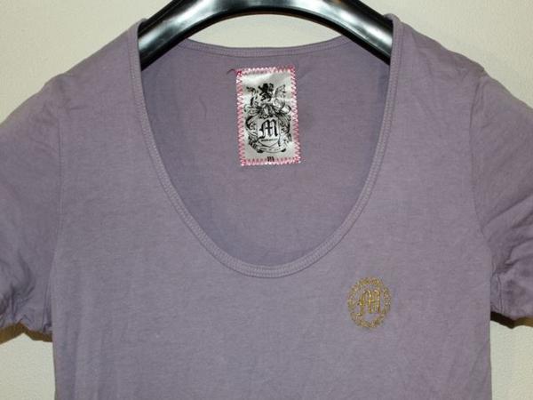 モーフィンジェネレーション Morphine Generation レディース半袖Tシャツ パープルMサイズ 新品_画像2