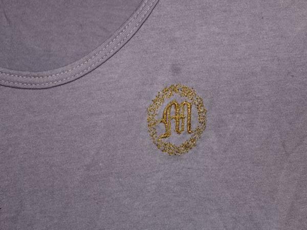 モーフィンジェネレーション Morphine Generation レディース半袖Tシャツ パープルMサイズ 新品_画像3