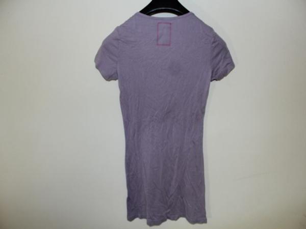 モーフィンジェネレーション Morphine Generation レディース半袖Tシャツ パープルMサイズ 新品_画像5