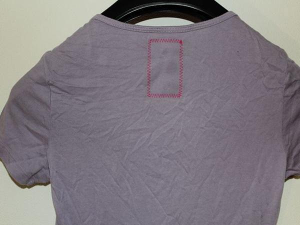 モーフィンジェネレーション Morphine Generation レディース半袖Tシャツ パープルMサイズ 新品_画像6