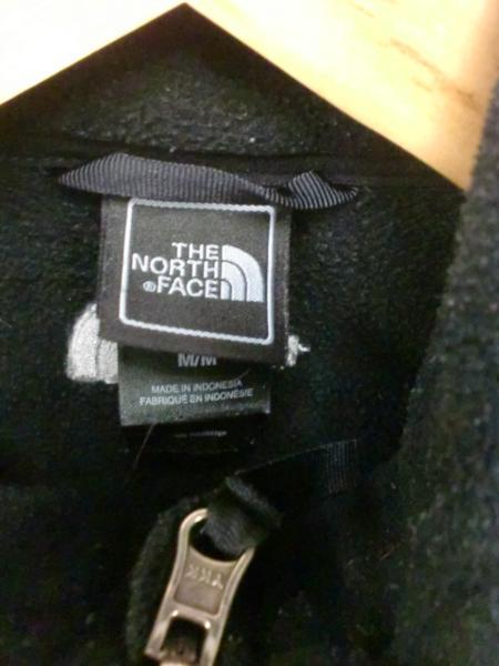 売り切りSALE!!THE NORTH FACEオールジップフリースブラックBOY子供XXS_画像3