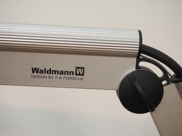 Waldmann バルトマン デスク用タスクライト スタンド付 中古_画像4