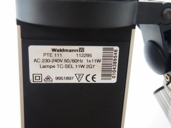Waldmann バルトマン デスク用タスクライト スタンド付 中古_画像5