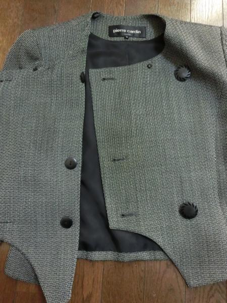 t465 ピエールカルダン デザインジャケット 9 毛 ヤフオク年末_画像6