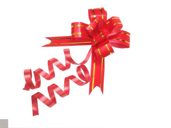 ■Gift wrapping packaging packing ribbon bar of 50 red 18mm width Free Shipping