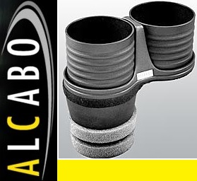 【M's】アウディ AUDI A7/S7/RS7 4G(2011y-)ALCABO ドリンクホルダー(ブラック カップタイプ)/社外 アルカボ カップホルダー AL-M313B_画像1