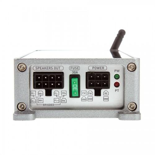 ■USA Audio■サウンドストリームSoundstream 超小型 ST4.1000DB 4ch Class D Bluetooth(ブルートゥース)機能付 Max.1000W●保証付●税込_画像2