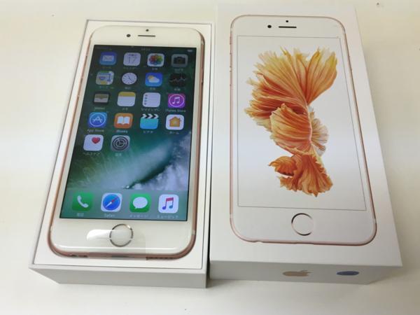 非常に良い iphone6s 16GB RoseGold  ドコモ制限〇 送料無料