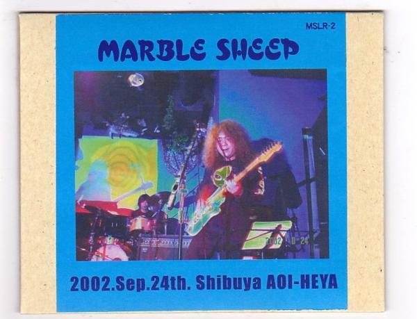 CD-R/MARBLE SHEEP / 2002.Sep.24th Shibuya AOI-HEYA_画像1
