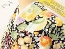 ★着物10★ 1円 絹 鈴蘭 草花 花々 袷 小紋 身丈156cm 裄63cm ☆☆☆
