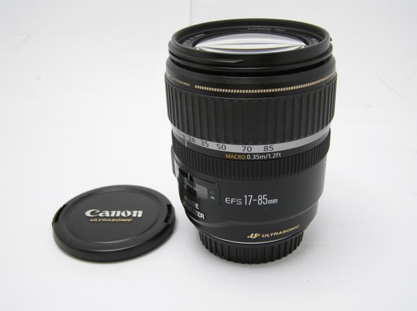 ★ハロ-カメラ★5827 Canon EF-S(17-85mm/4-5.6 IS USM) 手振れレンズ 箱.保証書有り.動作品 現状 美品 極上品_画像2