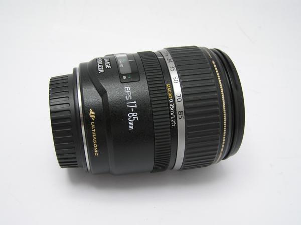 ★ハロ-カメラ★5827 Canon EF-S(17-85mm/4-5.6 IS USM) 手振れレンズ 箱.保証書有り.動作品 現状 美品 極上品_画像3