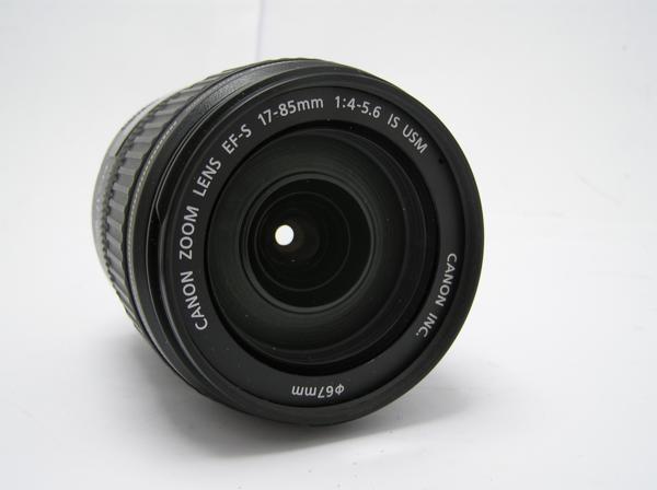 ★ハロ-カメラ★5827 Canon EF-S(17-85mm/4-5.6 IS USM) 手振れレンズ 箱.保証書有り.動作品 現状 美品 極上品_画像4