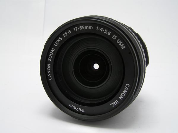 ★ハロ-カメラ★5827 Canon EF-S(17-85mm/4-5.6 IS USM) 手振れレンズ 箱.保証書有り.動作品 現状 美品 極上品_画像6