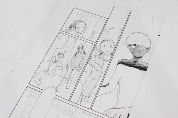 【マンガ図書館Z】陽気婢先生「眠れる惑星」生原稿&直筆サイン入り単行本など rfp1075_画像5