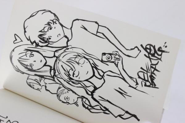 【マンガ図書館Z】陽気婢先生「眠れる惑星」生原稿&直筆サイン入り単行本など rfp1075_画像9