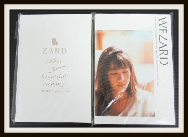 ZARDポストカードセット What a beautiful memory 42SINGLES+WEZARD【04