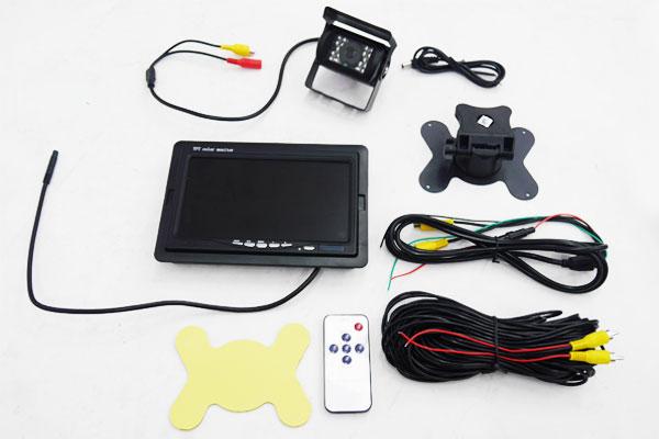 ○24V専用 7インチTFT液晶モニター&広角バックカメラセット 11_画像5