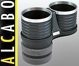 【M's】W219 ベンツ AMG CLSクラス(2005y-2010y)ALCABO 高級 ドリンクホルダー(BK+リング)/アルカボ カップホルダー AL-B109BS ALB109BS_画像1