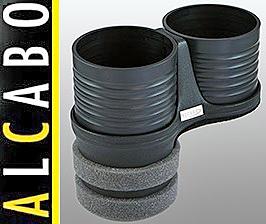 【M's】W219 ベンツ AMG CLSクラス(2005y-2010y)ALCABO 高級 ドリンクホルダー(ブラック)/アルカボ カップホルダー AL-B109B ALB109B_画像1