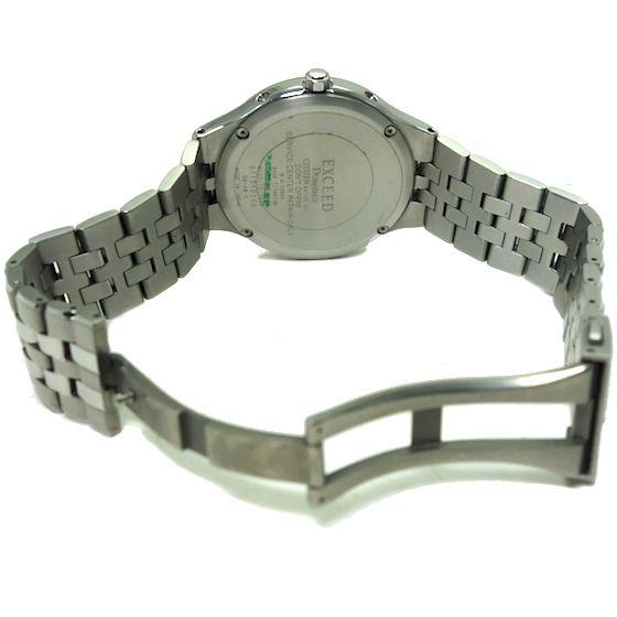 【USED】シチズン☆CITIZEN EXCEED エクシード EBG74-2792 エコドライブ電波時計 メンズ腕時計 チタン_画像3