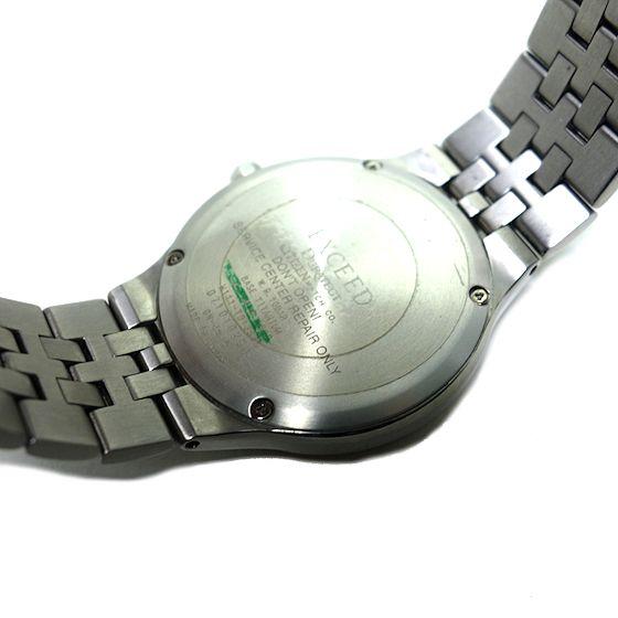 【USED】シチズン☆CITIZEN EXCEED エクシード EBG74-2792 エコドライブ電波時計 メンズ腕時計 チタン_画像4